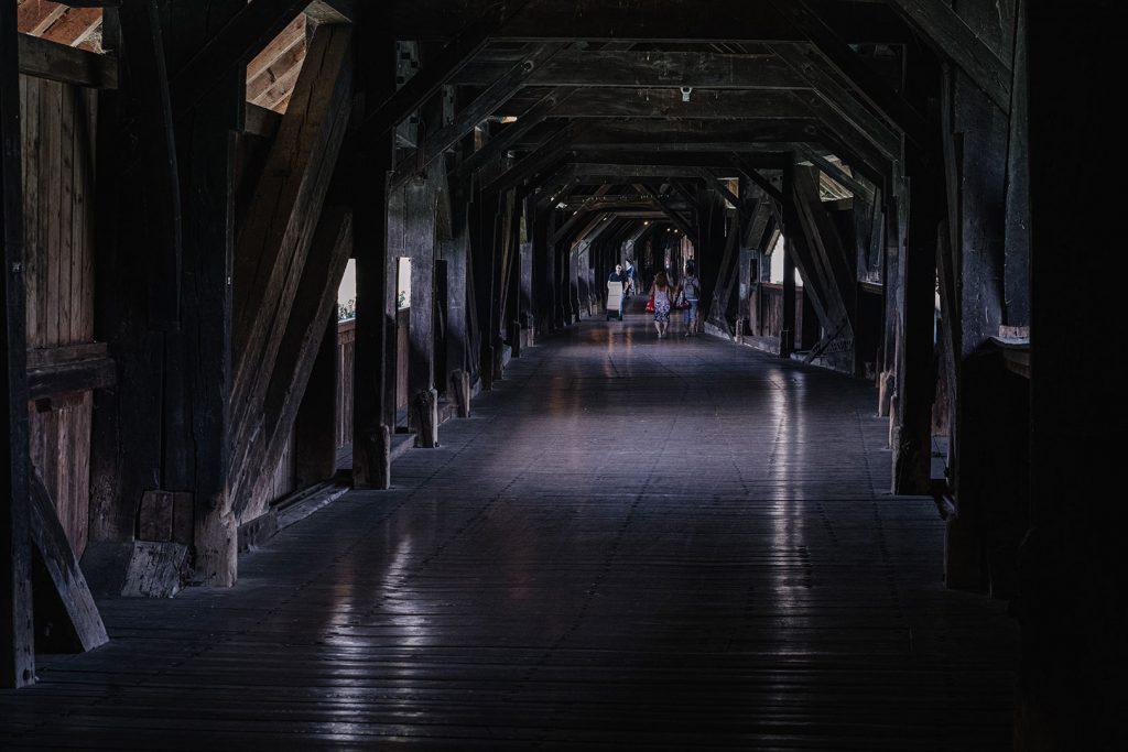 Holzbrücke Bad Säckingen von innen