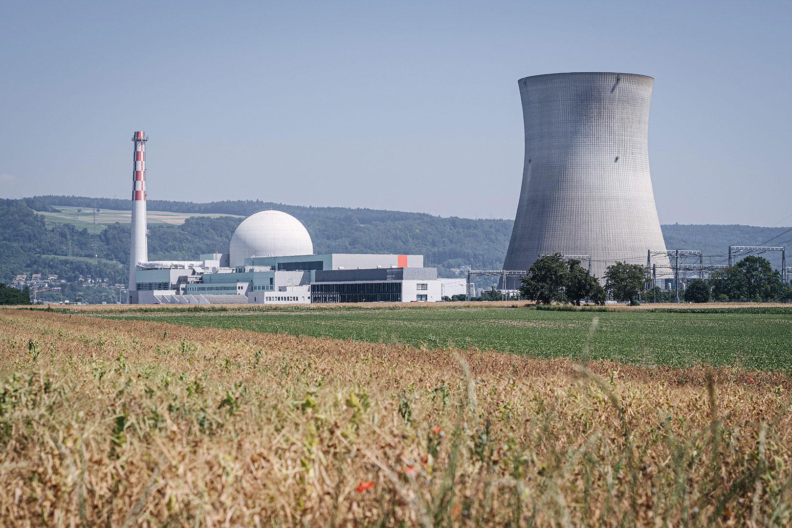 Kernkraftwerk bei Leibstadt