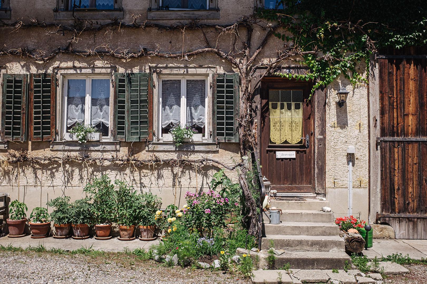 Altes Haus in Büsingen am Hochrhein