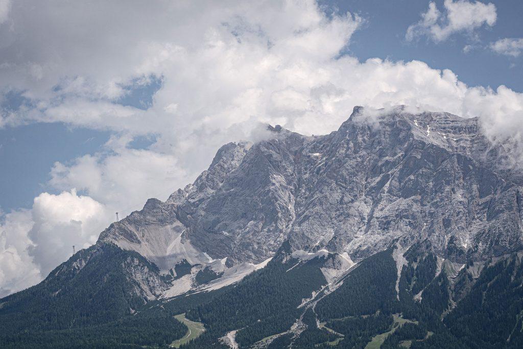 Der Berg Zuspitze