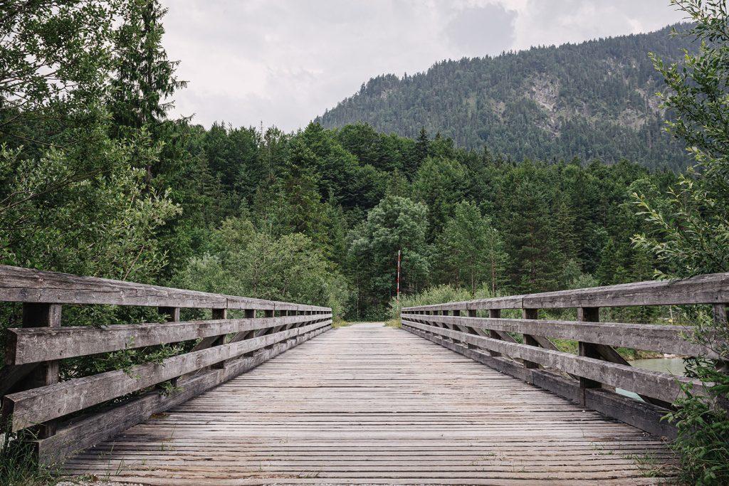 Brücke an der Mautstraße Wallgau-Vorderriß