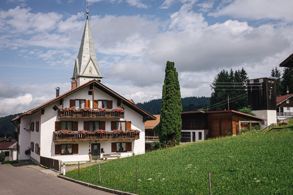 Kirche in Jungholz