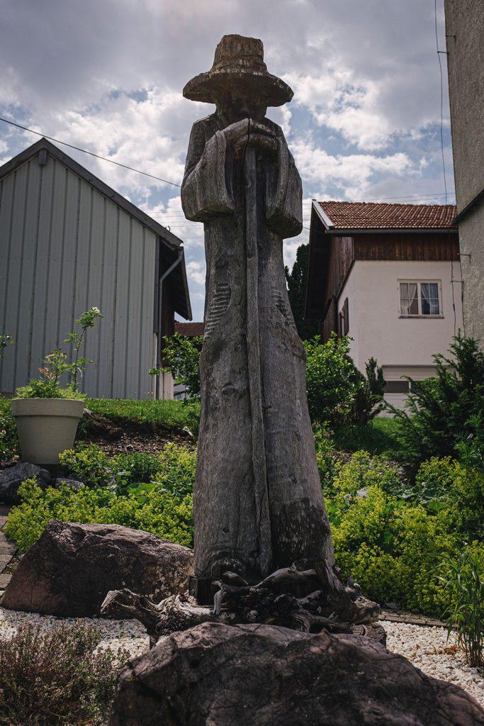 Kräutergarten-Skulptur in Jungholz