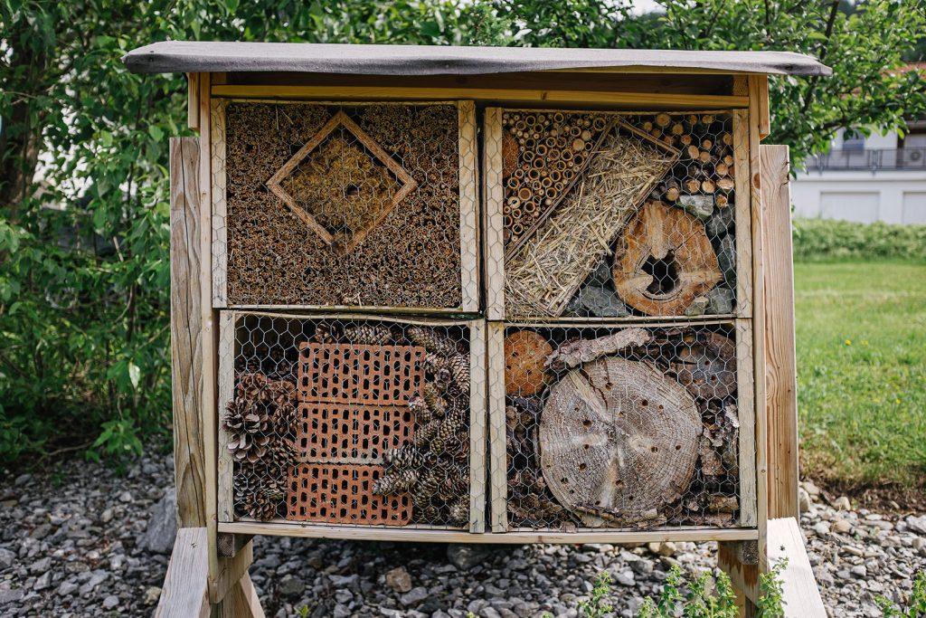 Insektenhotel in Jungholz