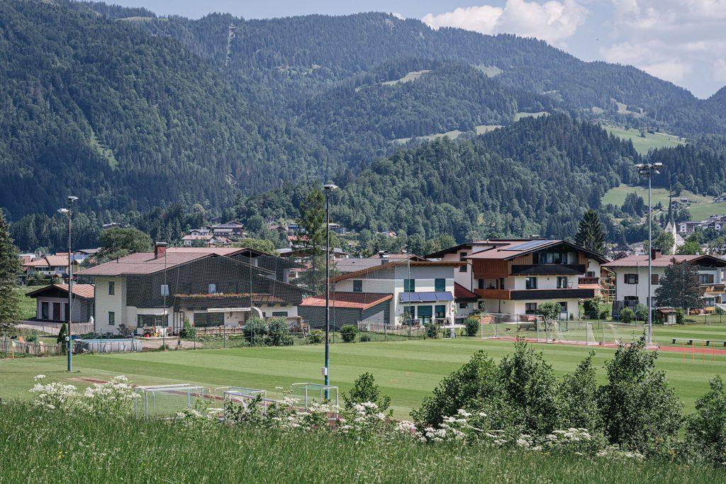 Sportplatz in Kössen
