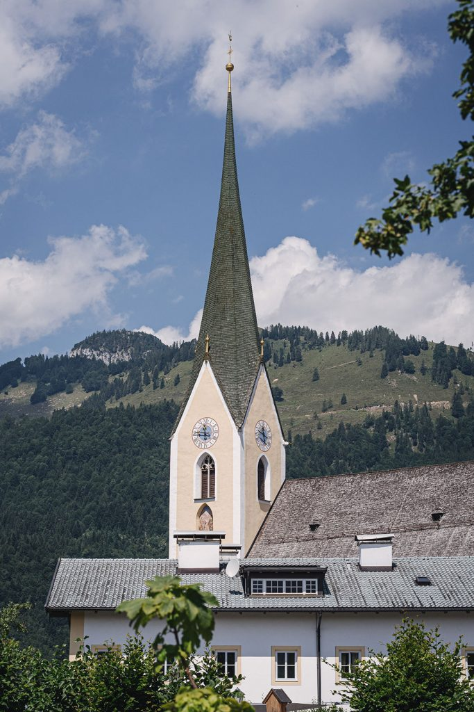 Kirche in Kössen