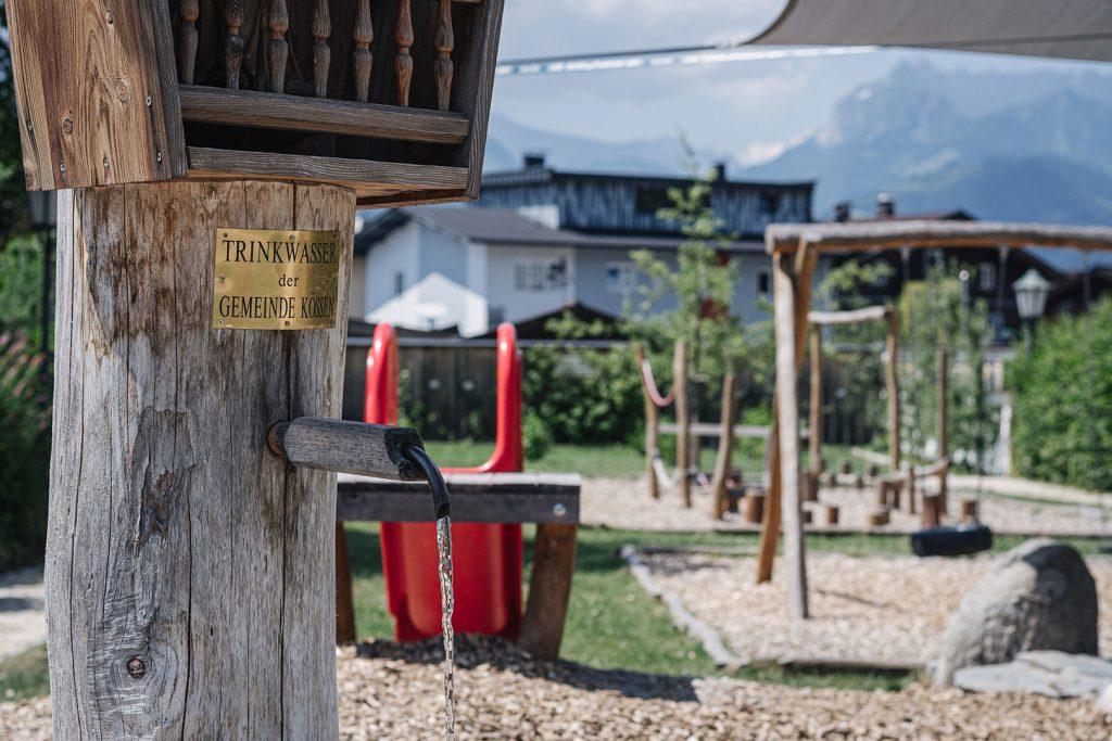 Trinkwasserbrunnen in Kössen