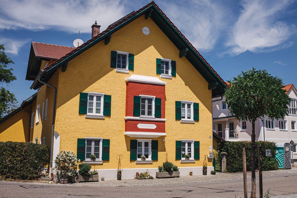 Gelbes Haus in in Aigen am Inn