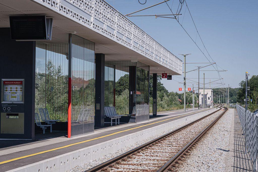 Bahnhof in Weitwörth