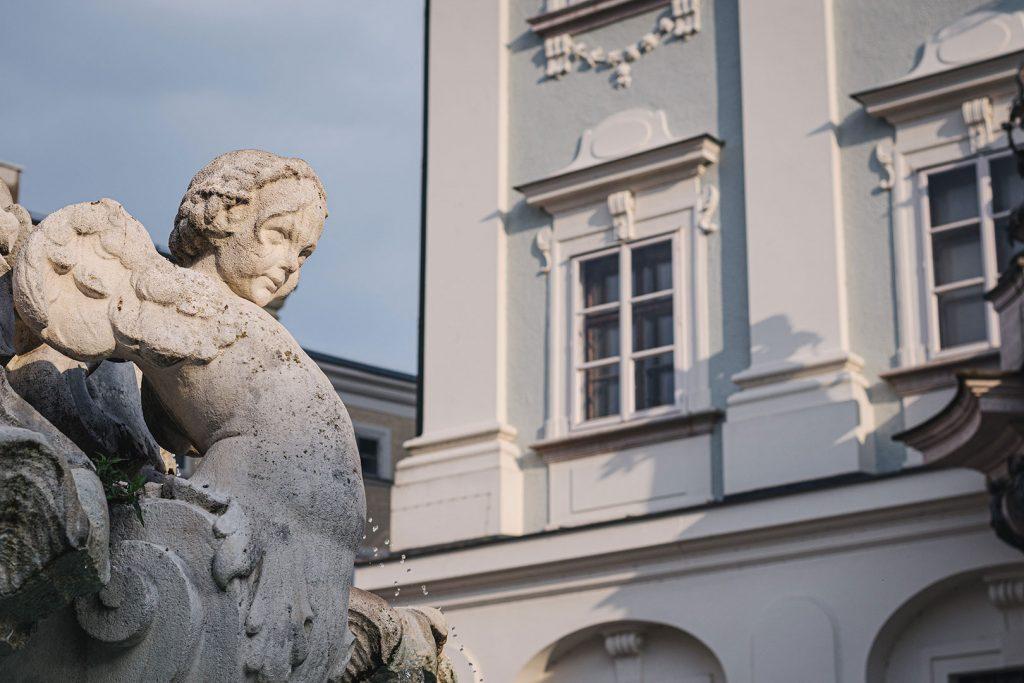 Brunnen-Skulptur in Passau