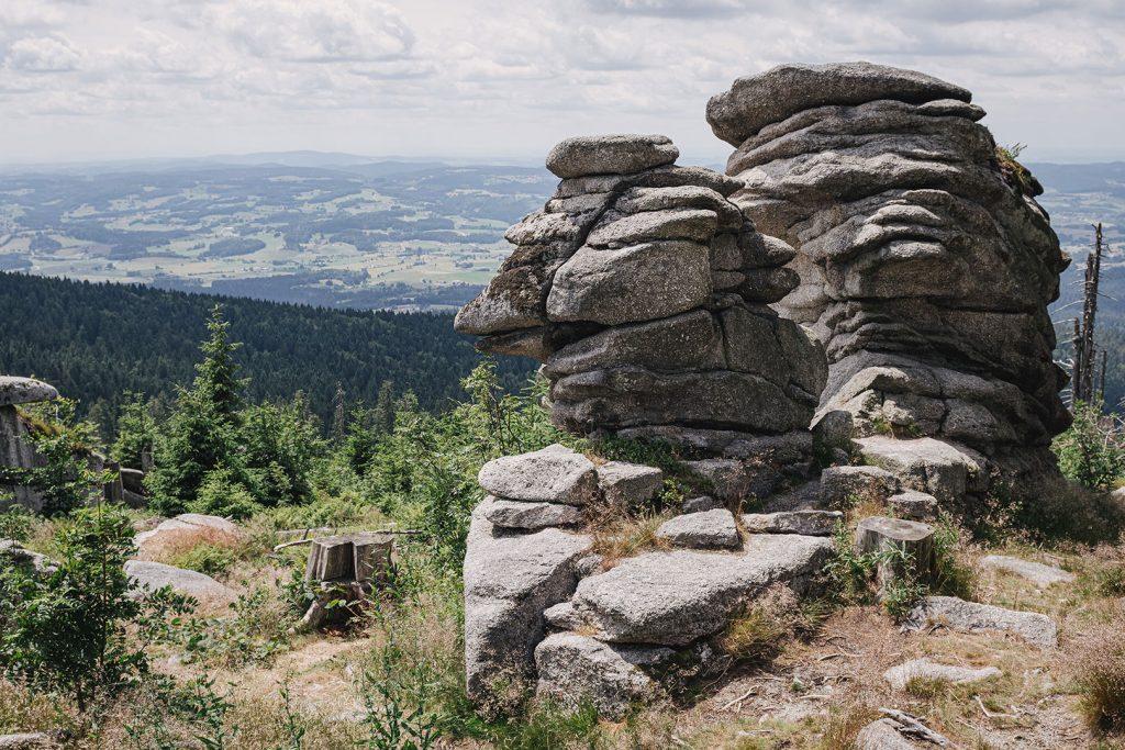 Steinfels am Dreisesselberg