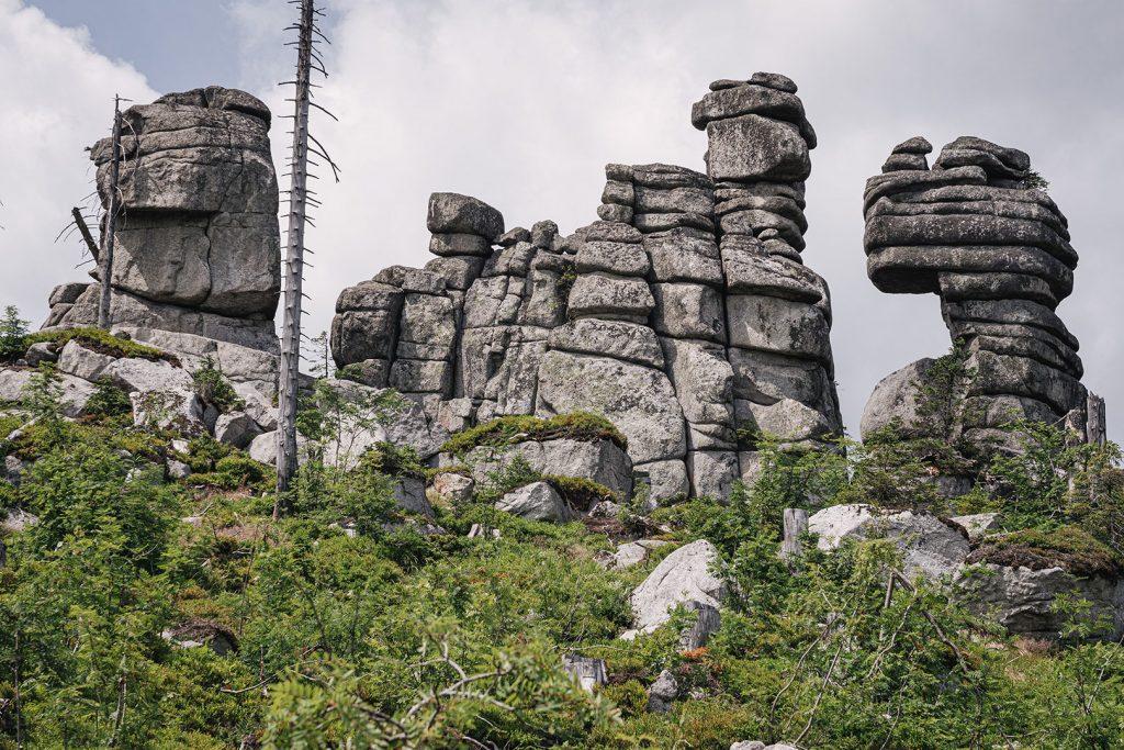 Felsen am Dreisesselberg