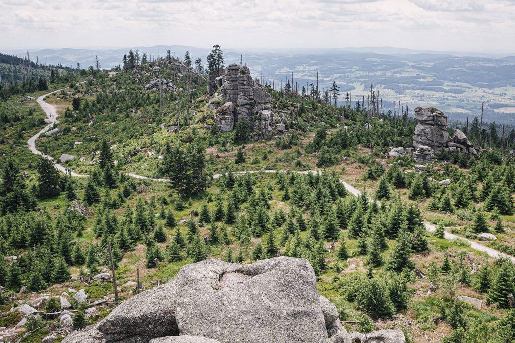 Blick vom Dreisesselberg