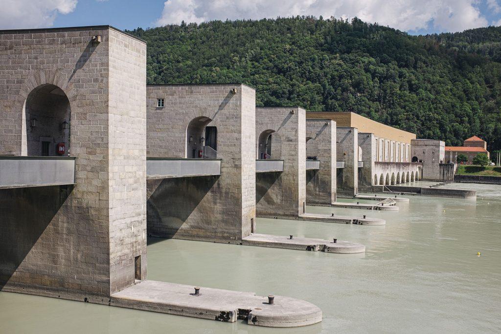Donaukraftwerk in Jochenstein