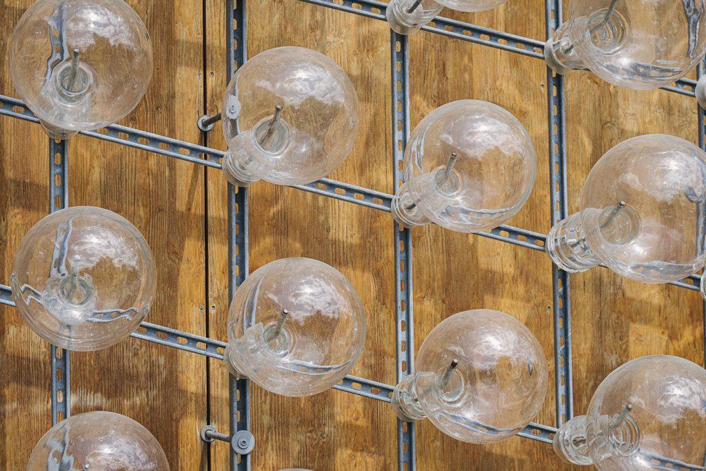 Glas-Glühbirnen in Frauenau