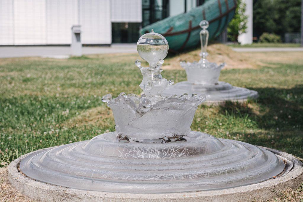 Glastropfen in Frauenau