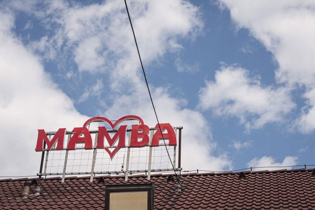 Mamba-Nightclub in Obervollmau (Horní Folmava)