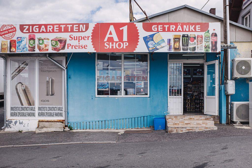 Shop in Obervollmau (Horní Folmava)