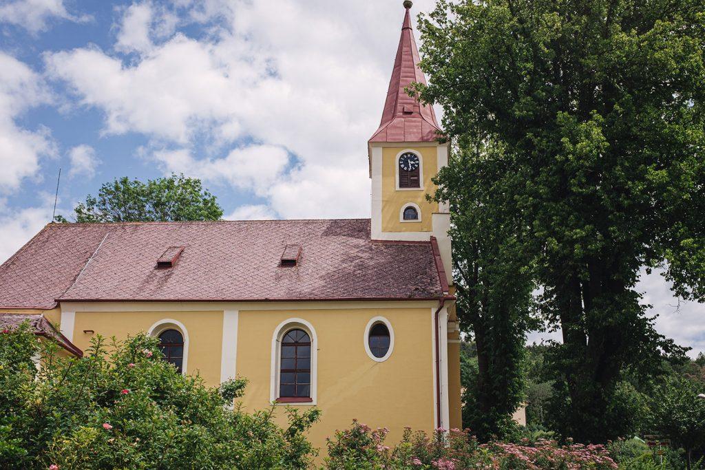 Kirche in Obervollmau (Horní Folmava)