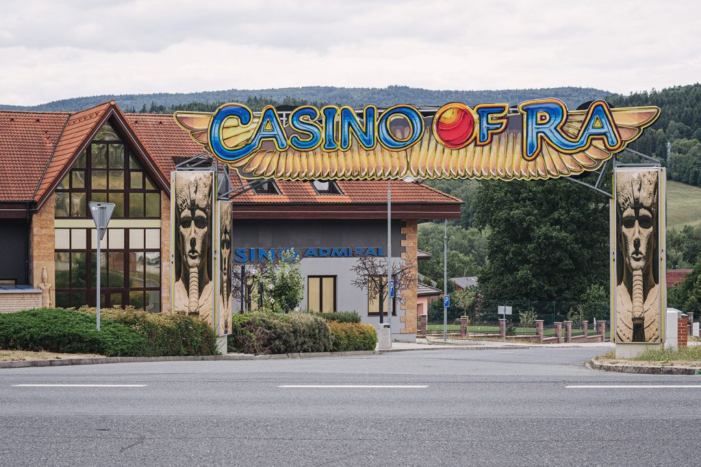 Casino von Obervollmau (Horní Folmava)