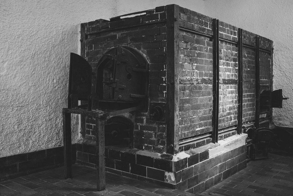 Krematorium in der KZ-Gedenkstätte Flossenbürg