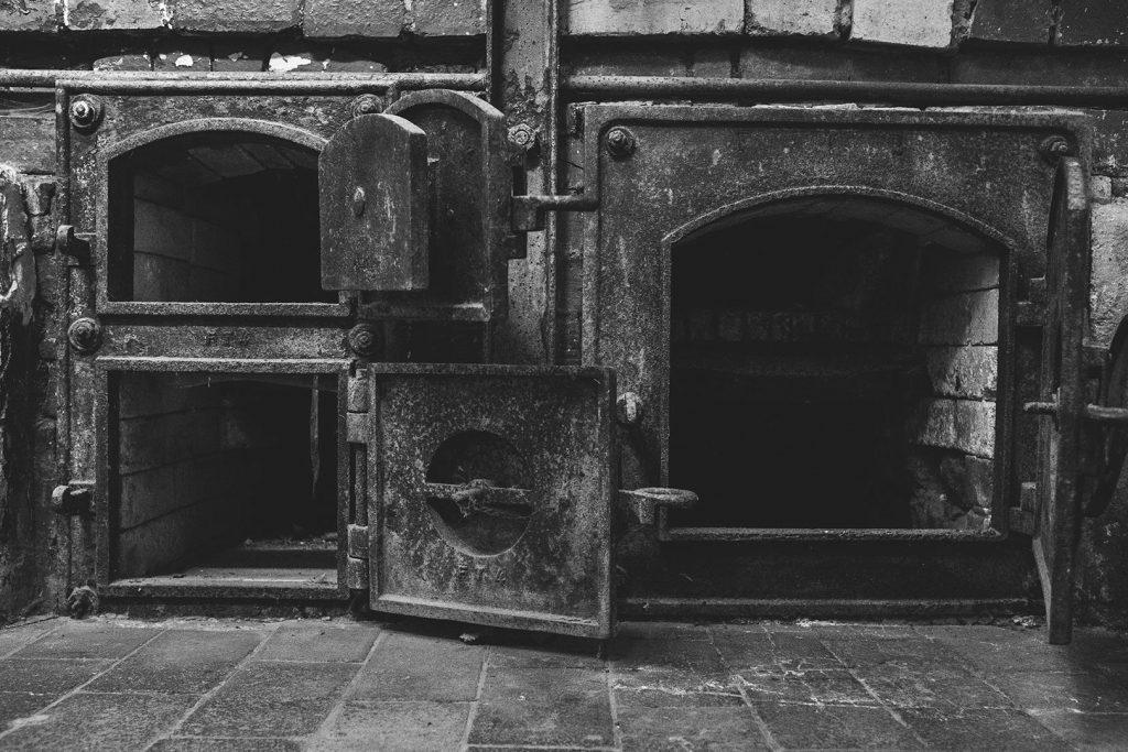 Ofen in der KZ-Gedenkstätte Flossenbürg