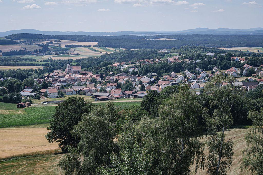 Ausblick auf Neualbenreuth