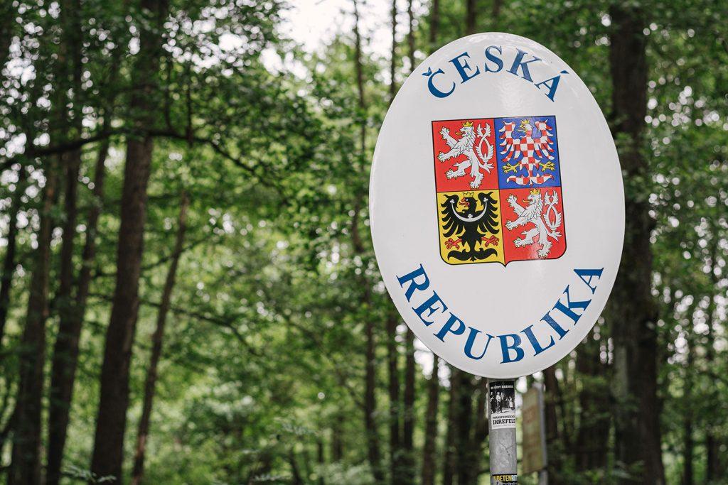 Tschechische Republik am ehemaligen Dreiländereck BRD-DDR-Tschechoslowakei