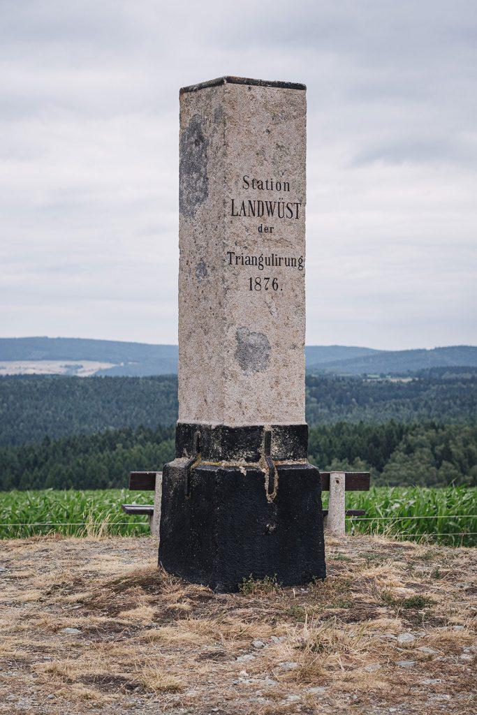 Gedenkstein in Landwüst