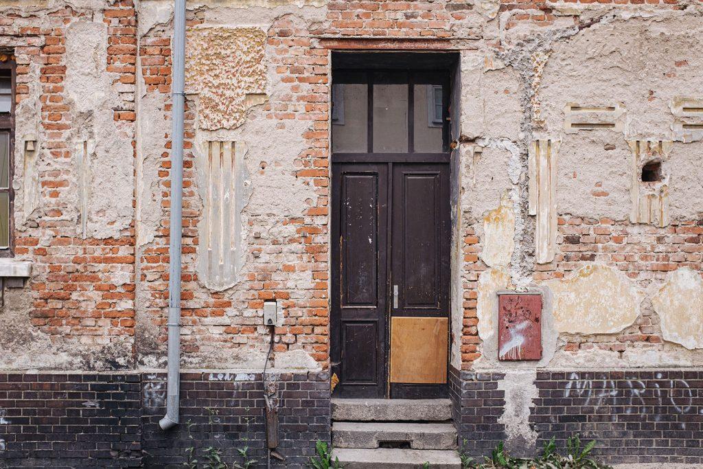 Haustür in Tschechien