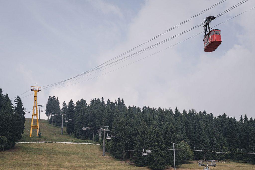 Luftseilbahn in Oberwiesenthal