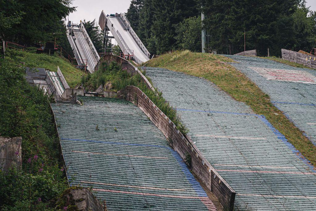 Skisprungschanze in Oberwiesenthal