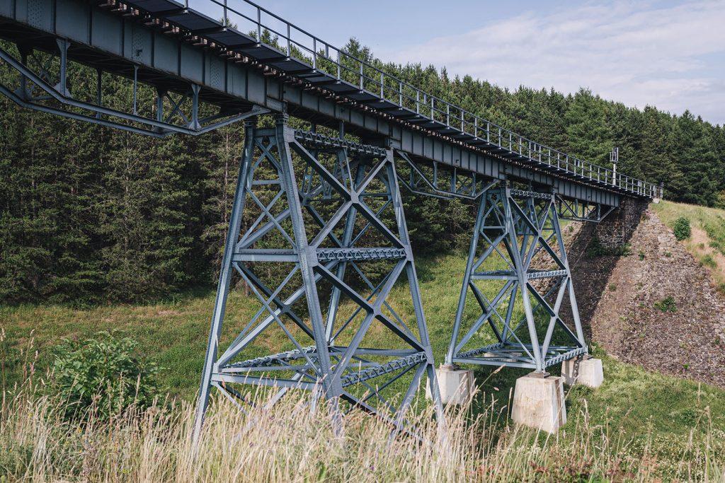 Zugbrücke in Oberwiesenthal