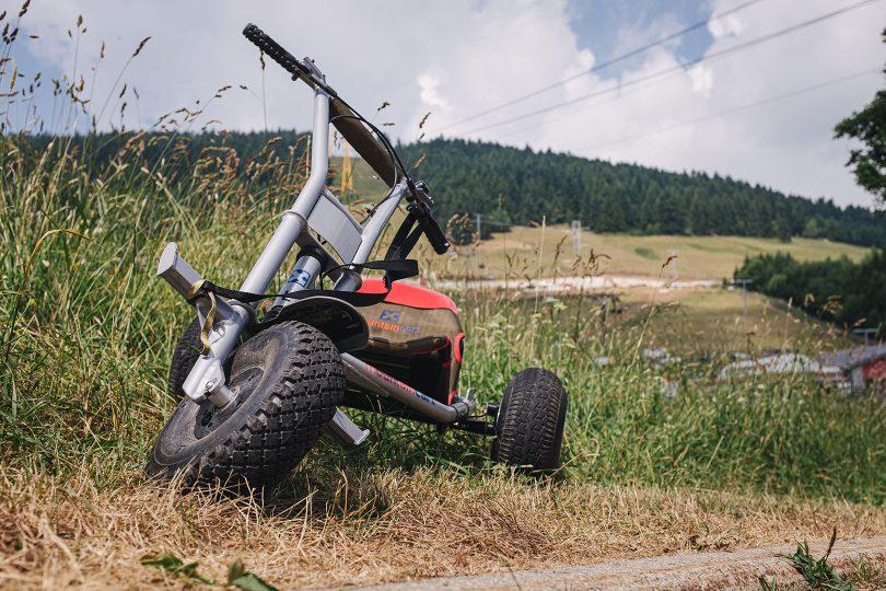 Mountaincart in Oberwiesenthal