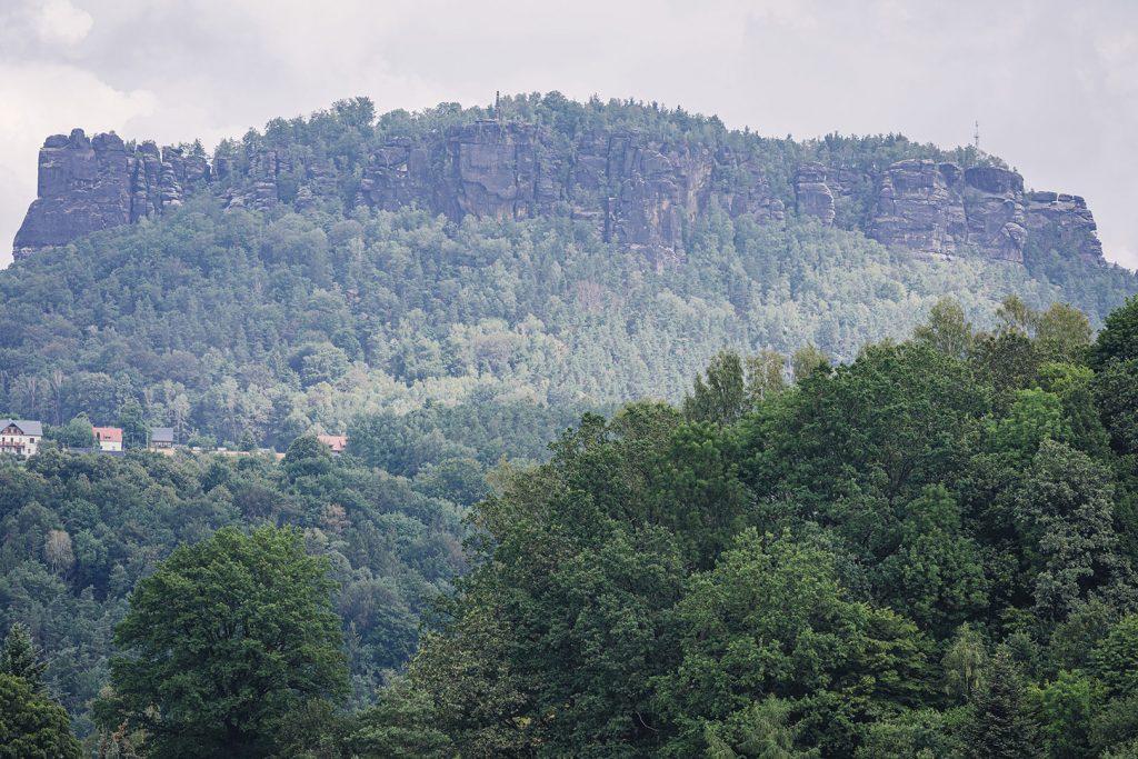 Felsformation in Königstein