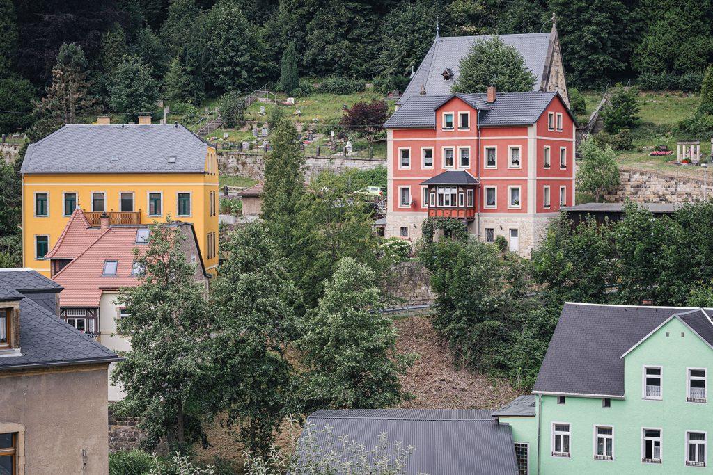 Bunte Häuser in Königstein