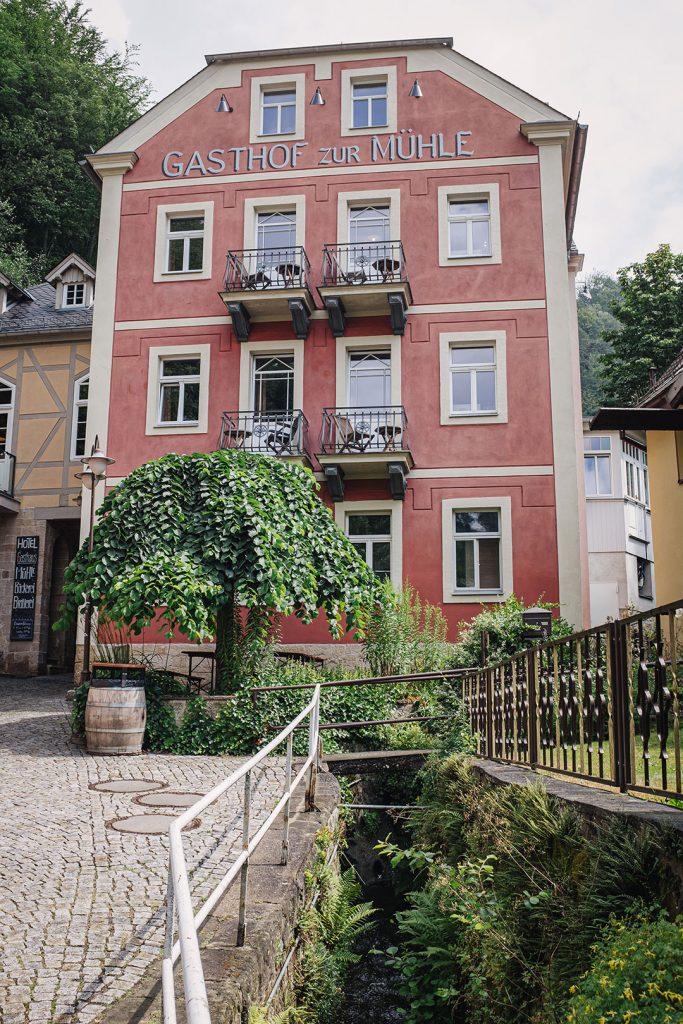 Gasthof in Schmilka