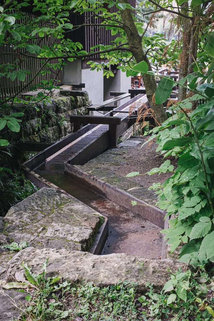 Mühlenwasserweg in Schmilka