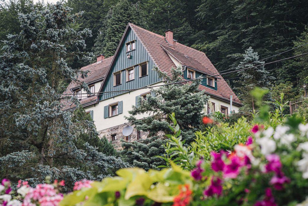 Haus am Hang in Schmilka