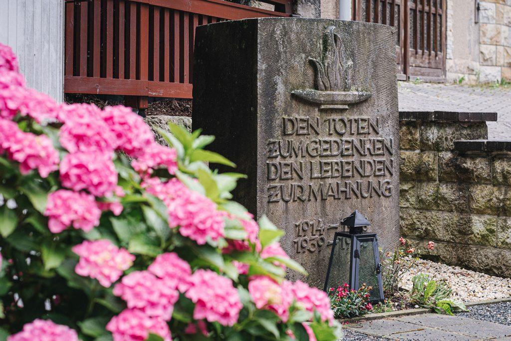 Gedenkstein in Schmilka