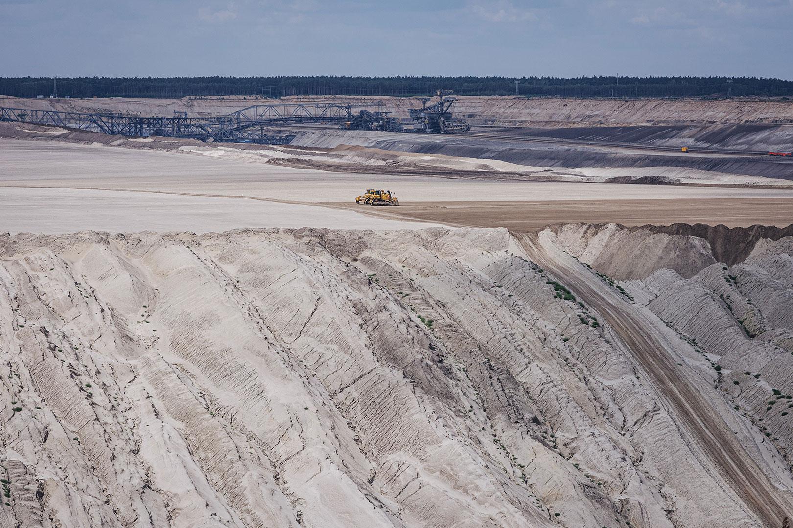 Tagebau in Griessen