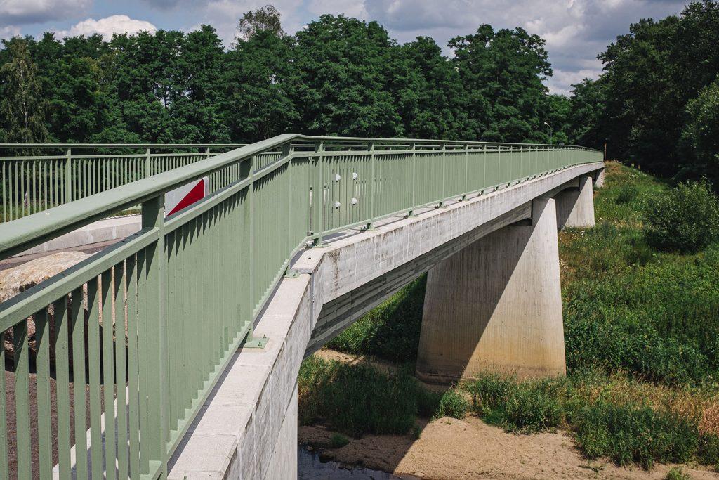 Brücke zwischen Zelz und Siedlec