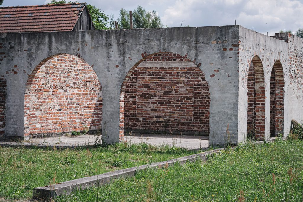 Rundbogen-Bau in Siedlec