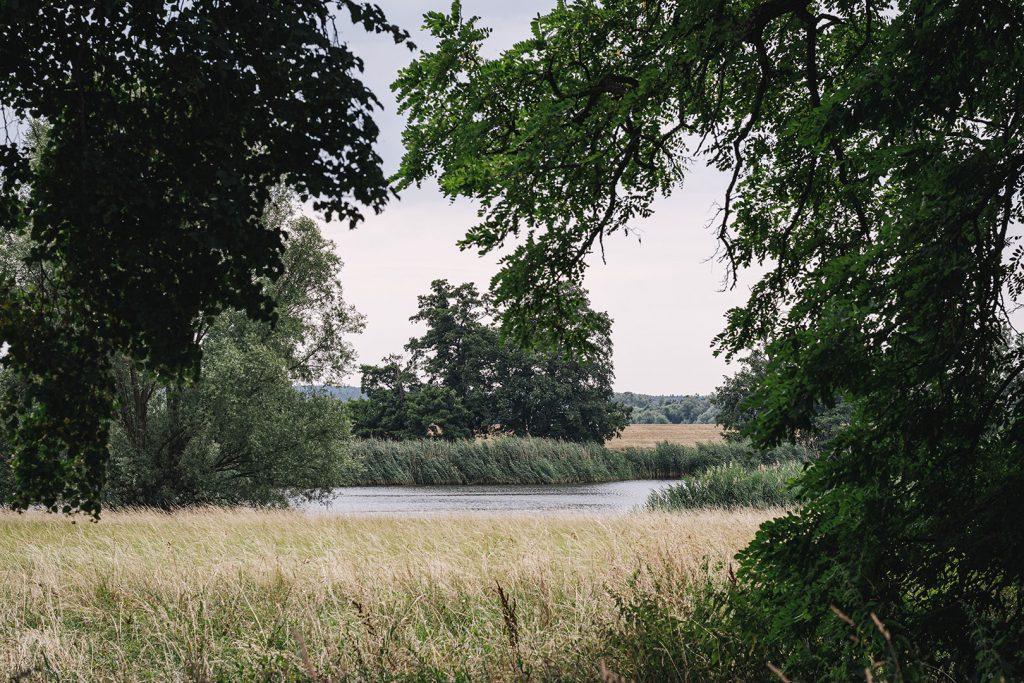 Fluss und Natur in Criewen