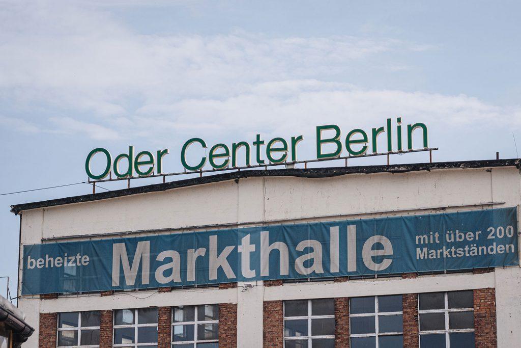 Oder Center Berlin am Polenmarkt in Niederwutzen (Osinów Dolny)
