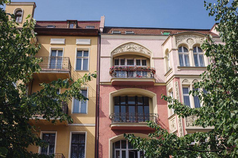 Häuser in Stettin
