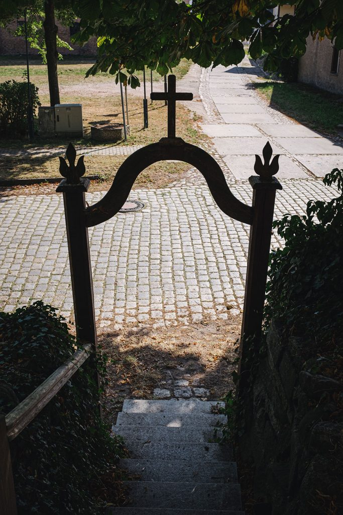 Kircheingang in Reinberg