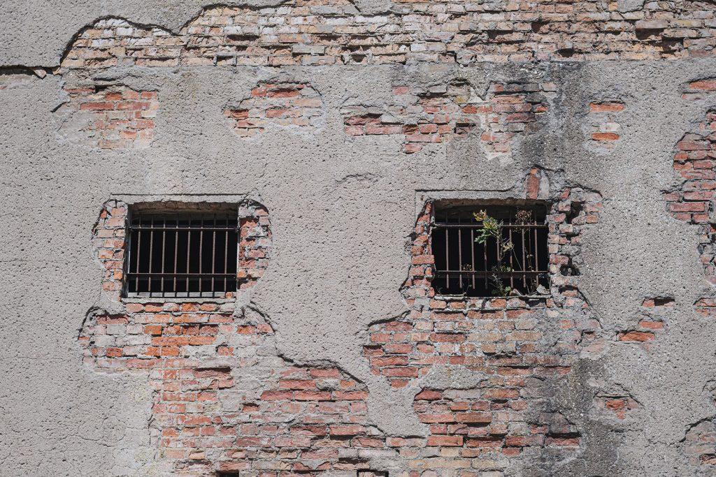 Teil eines Gebäudetraktes in Prora