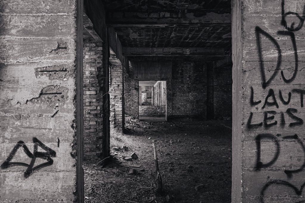 Ruinengang in Prora