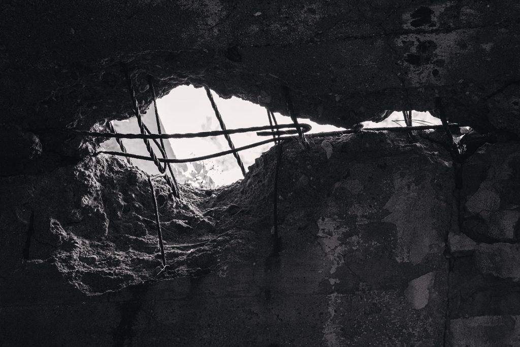 Detail der Ruine Prora